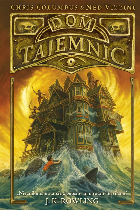 Dom tajemnic (ebook) –	Chris Columbus, Ned Vizzini