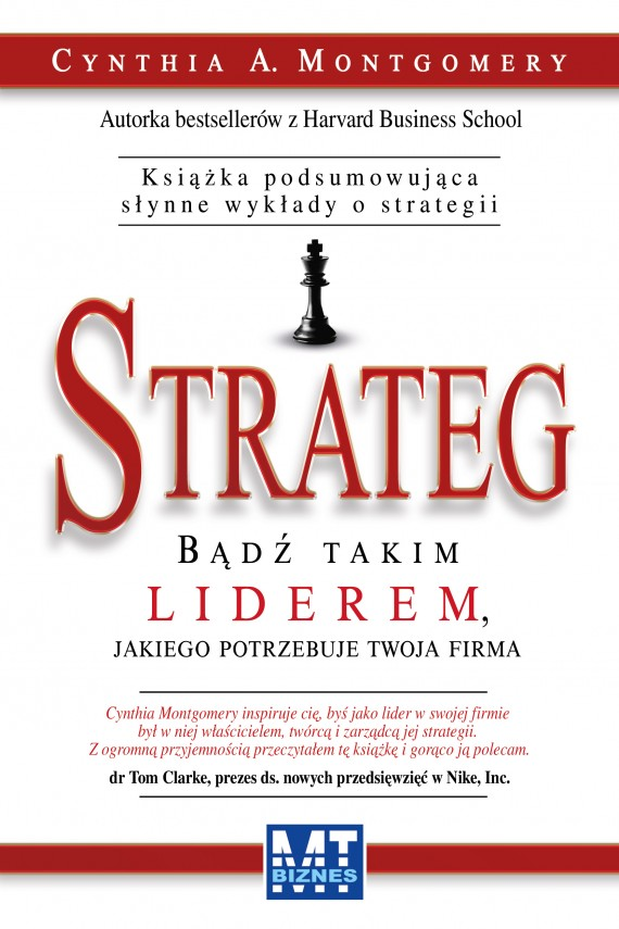 Strateg (ebook) –	Cynthia A.  Montgomery