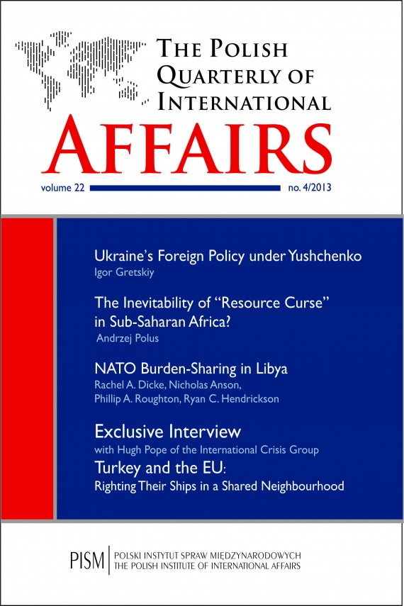 The Polish Quarterly of International Affairs 4/2013 (ebook) –	Praca Zbiorowa