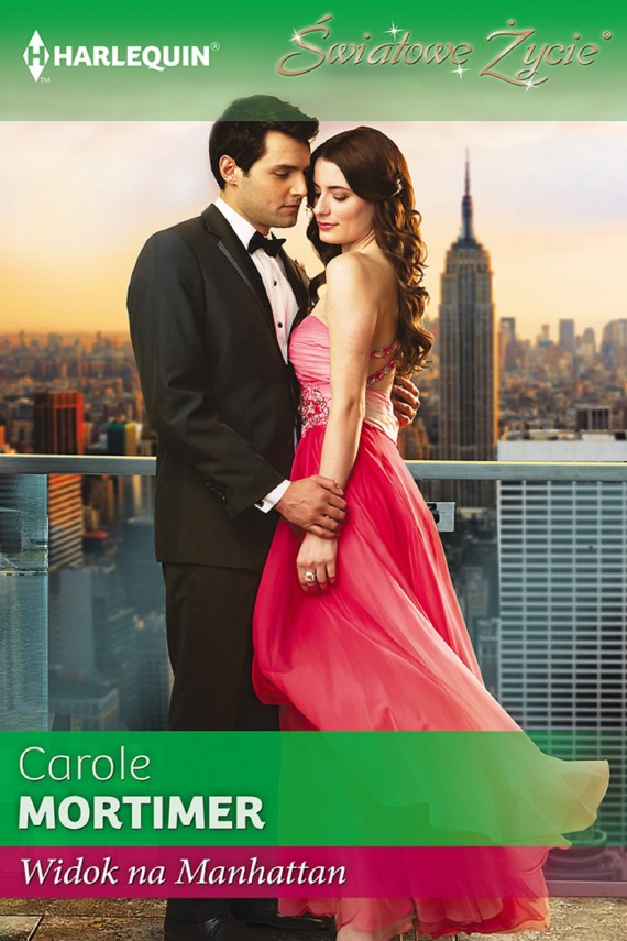 Widok na Manhattan (ebook) –	Carole Mortimer