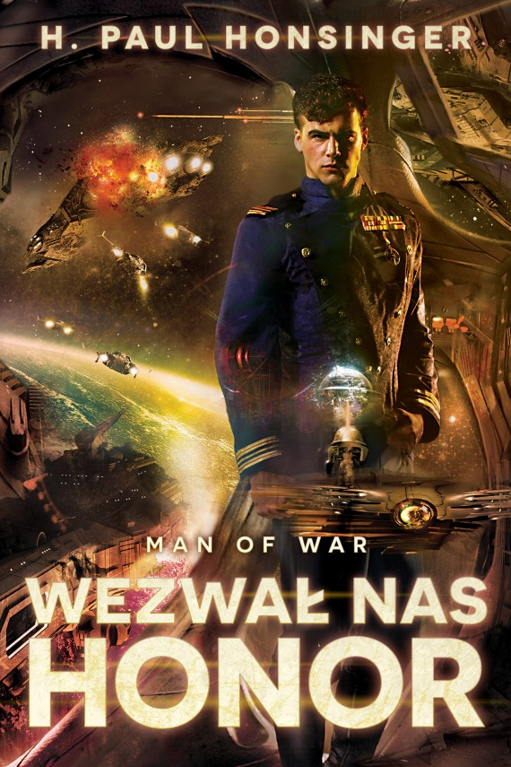 Man of War: Wezwał nas honor (ebook) –	H. Paul Honsinger