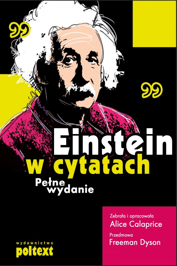 Einstein w cytatach (ebook) –	Alice Calaprice