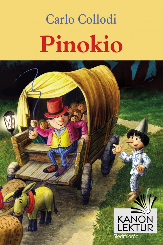 Pinokio (ebook) –	Carlo Collodi