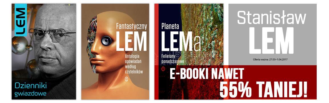 Ebooki Stanisława Lema do 55% taniej