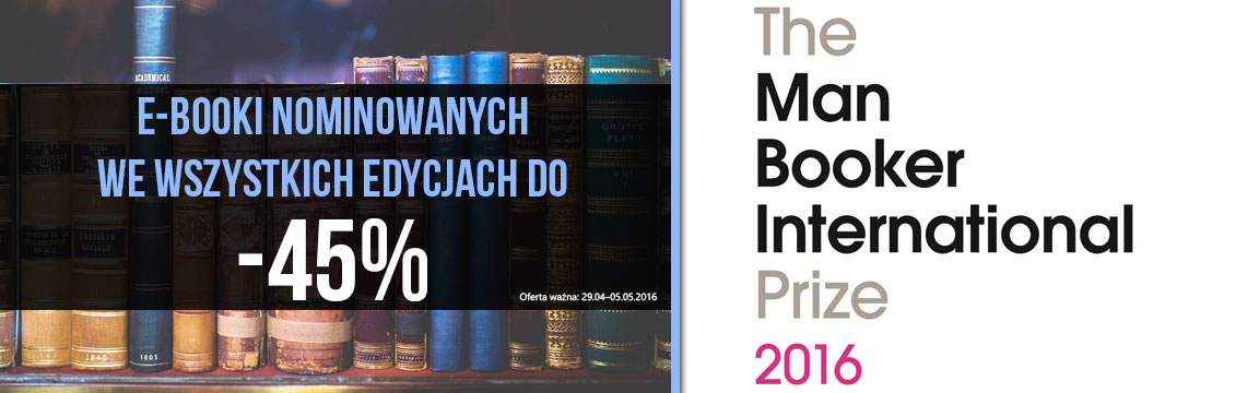 Grafika prowadzi do promocji: Man Booker International Prize