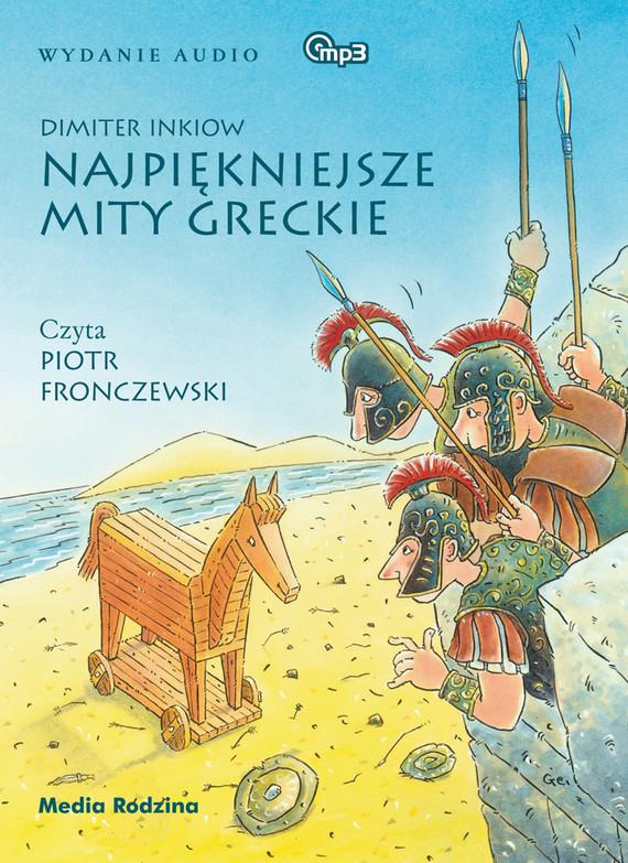 okładka Najpiękniejsze mity greckie, Audiobook | Dimiter Inkiow