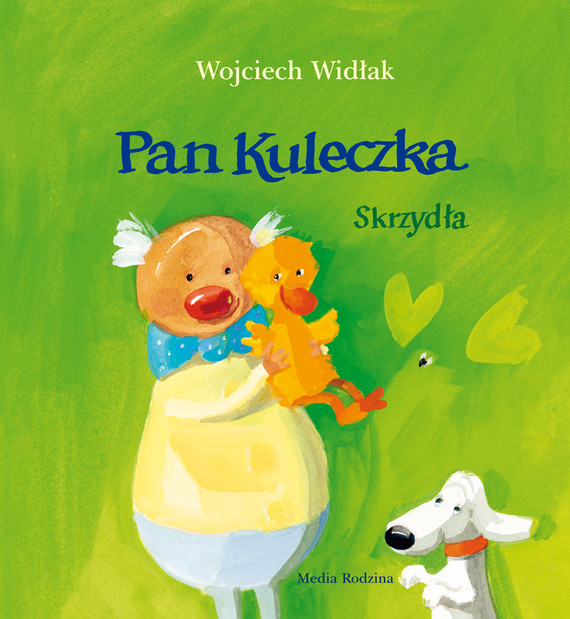 okładka Pan Kuleczka. Skrzydłaaudiobook   MP3   Wojciech Widłak