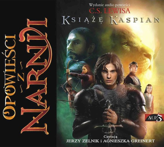 okładka Opowieści z Narnii. Książę Kaspianaudiobook | MP3 | Clive Staples Lewis
