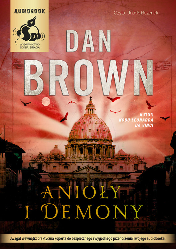 okładka Anioły i demony, Audiobook | Dan Brown