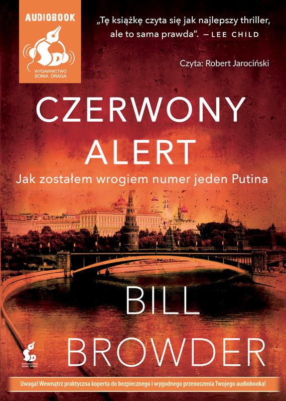 okładka Czerwony alert. Jak zostałem wrogiem numer jeden Putinaaudiobook | MP3 | Gilles Legardinier