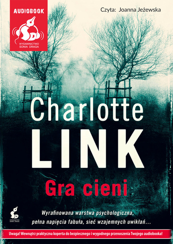 okładka Gra cieniaudiobook | MP3 | Charlotte Link