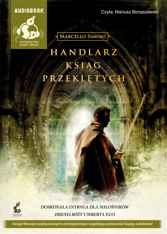 okładka Handlarz ksiąg przeklętych, Audiobook | Peter  Robinson