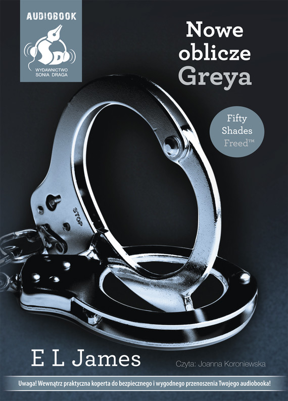 okładka Nowe oblicze Greyaaudiobook | MP3 | Sophie Kinsella