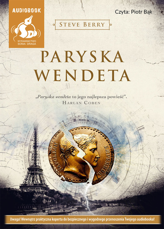 okładka Paryska wendeta. Audiobook | MP3 | Steve Berry
