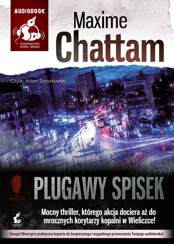 okładka Plugawy spisek, Audiobook | Maxime Chattam