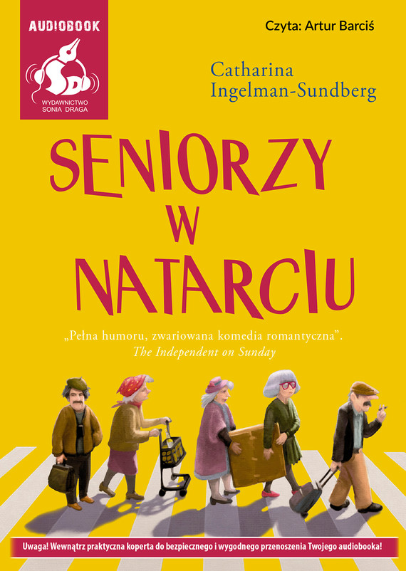 okładka Seniorzy w natarciuaudiobook | MP3 | Catharina Ingelman-Sundberg