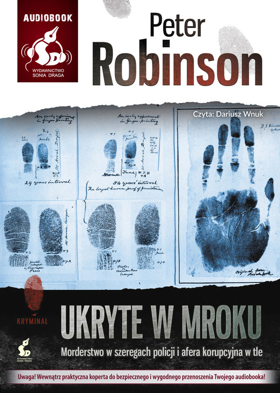 okładka Ukryte w mrokuaudiobook | MP3 | Peter  Robinson