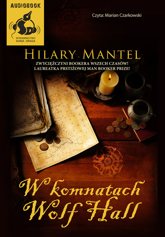 okładka W komnatach Wolf Hallaudiobook | MP3 | Hilary Mantel