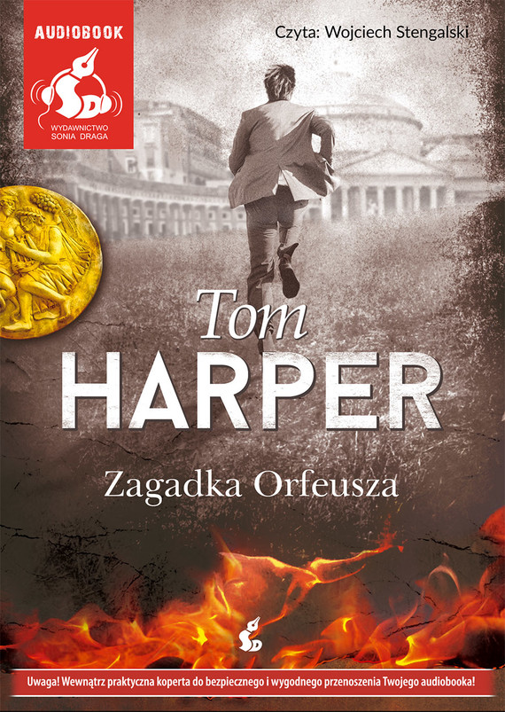 okładka Zagadka Orfeuszaaudiobook | MP3 | Tom Harper