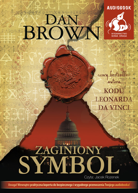 okładka Zaginiony symbolaudiobook | MP3 | Dan Brown