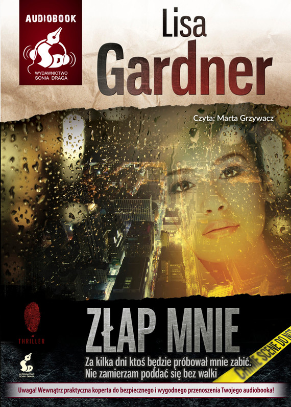 okładka Złap mnieaudiobook   MP3   Lisa Gardner
