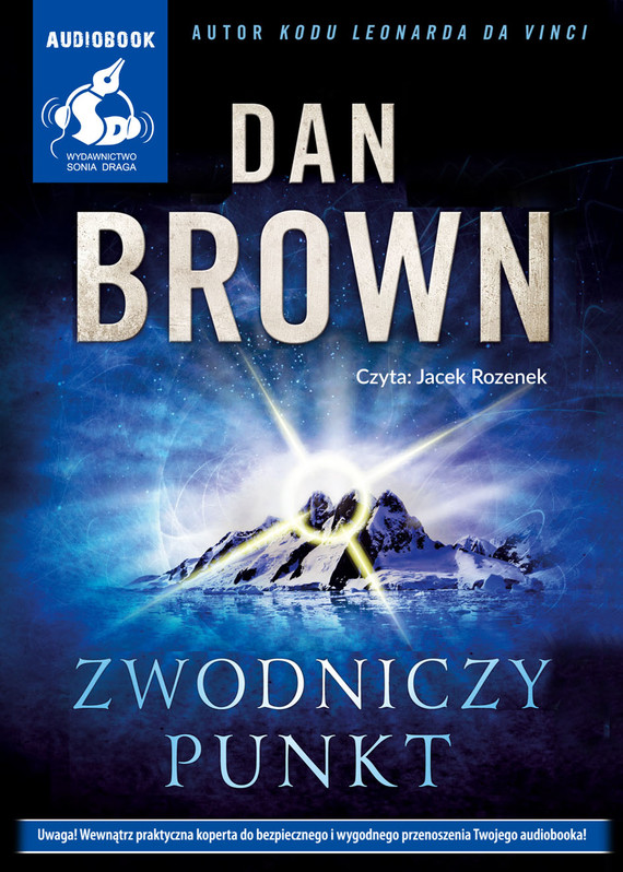okładka Zwodniczy punktaudiobook | MP3 | Dan Brown
