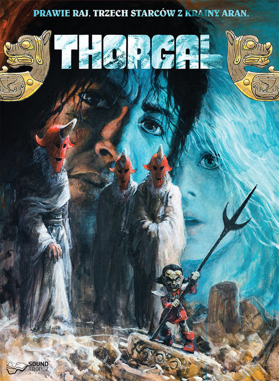 okładka Thorgal. Prawie Raj/Trzech Starców z Krainy Aranaudiobook | MP3 | van Hamme Jean