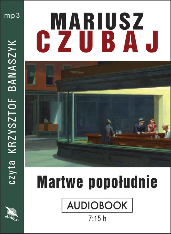 okładka MARTWE POPOŁUDNIE, Audiobook | Mariusz Czubaj