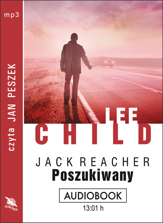 okładka POSZUKIWANY. Audiobook | MP3 | Lee Child