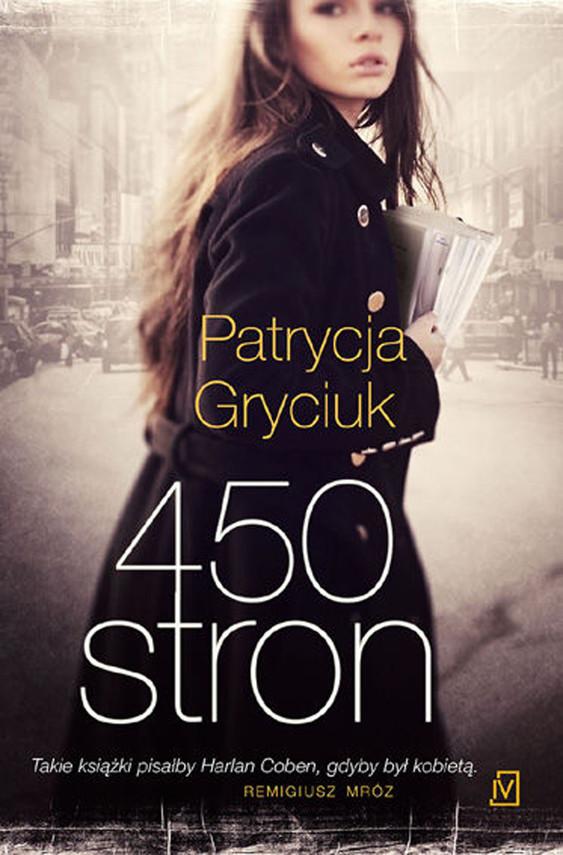 okładka 450 stron, Audiobook | Patrycja  Gryciuk