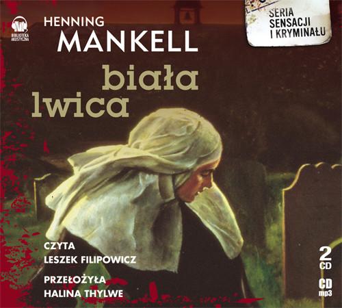 okładka Biała lwica. Audiobook | MP3 | Henning Mankell