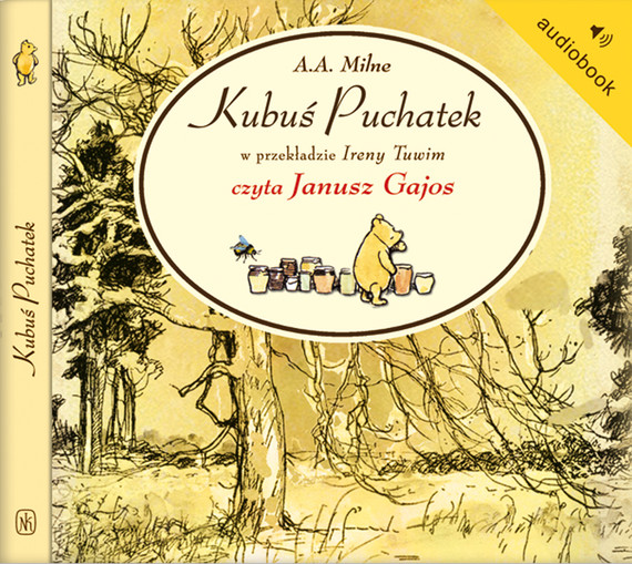 okładka Kubuś Puchatek, Audiobook | Alan Alexander Milne