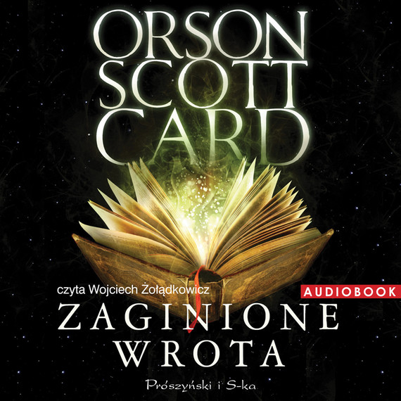okładka Zaginione wrota, Audiobook | Orson Scott Card