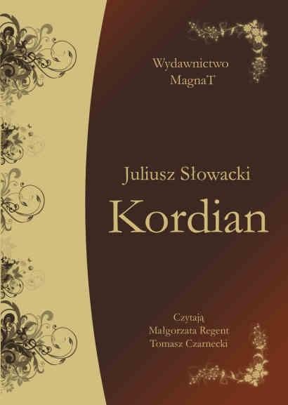 okładka Kordianaudiobook   MP3   Juliusz Słowacki