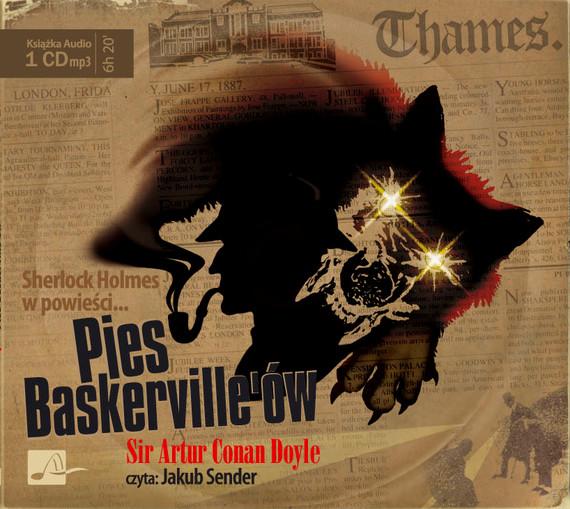 okładka Pies Baskervilleów. Audiobook | MP3 | Artur Conan Doyle