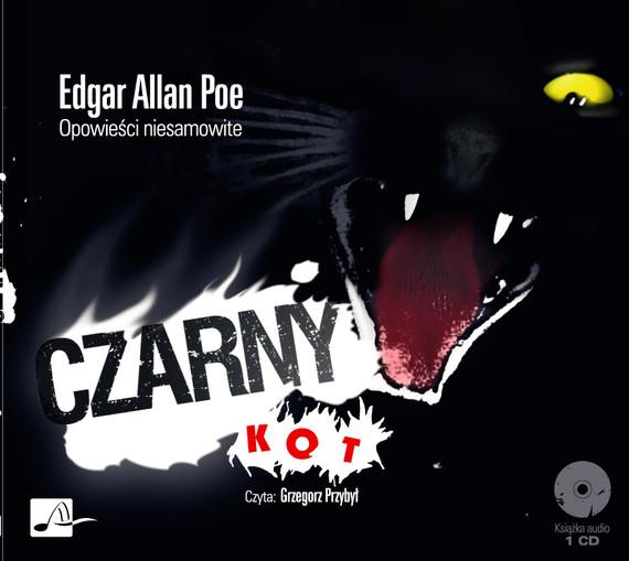 okładka Czarny kotaudiobook | MP3 | Edgar Allan Poe