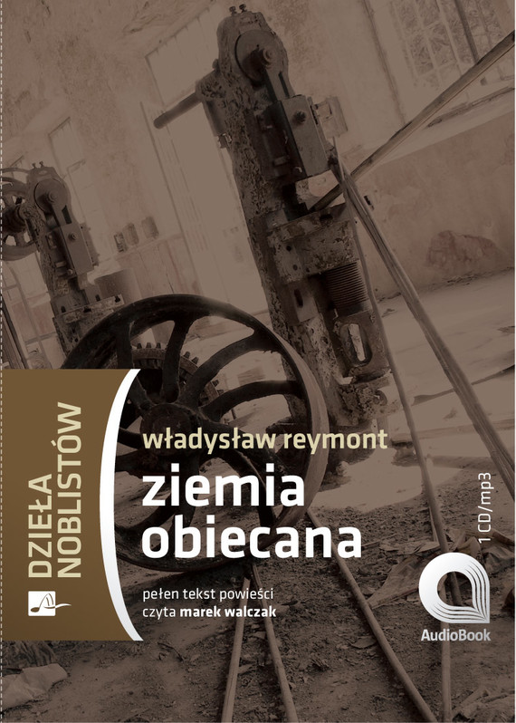 okładka Ziemia obiecanaaudiobook | MP3 | Władysław Stanisław Reymont
