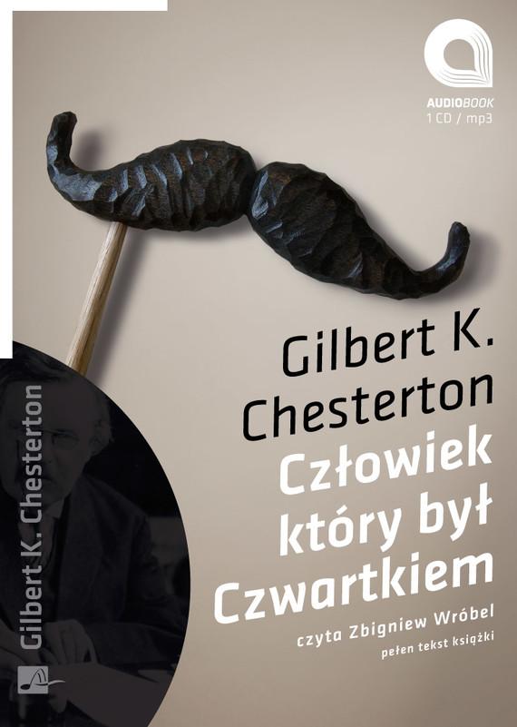 okładka Człowiek który był czwartkiemaudiobook | MP3 | Gilbert Keith  Chesterton