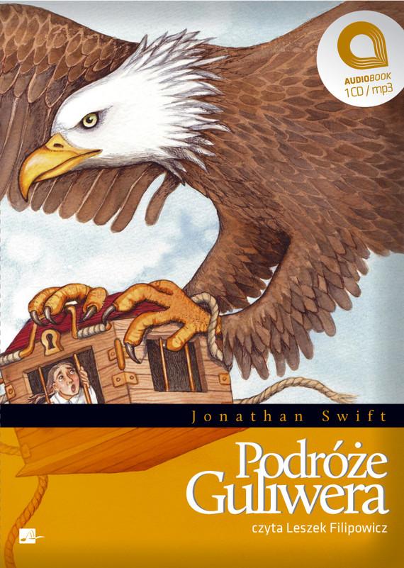 okładka Podróże Guliweraaudiobook | MP3 | Jonathan Swift