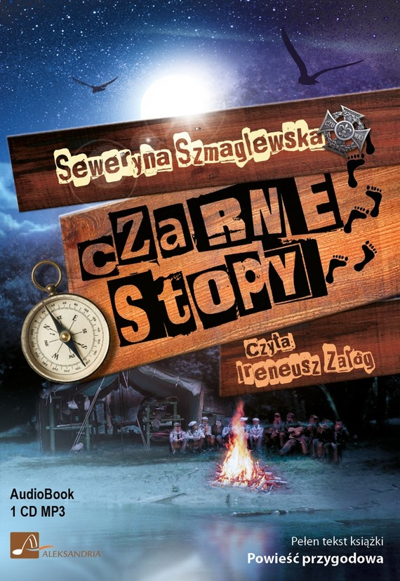 okładka Czarne stopy, Audiobook | Seweryna Szmaglewska