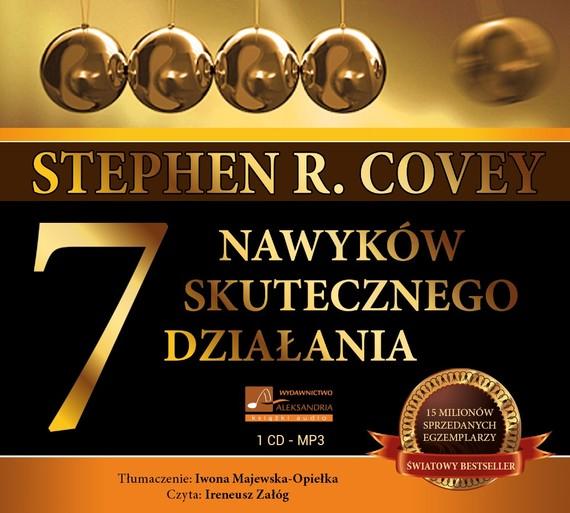 okładka 7 nawyków skutecznego działania, Audiobook | Stephen Covey