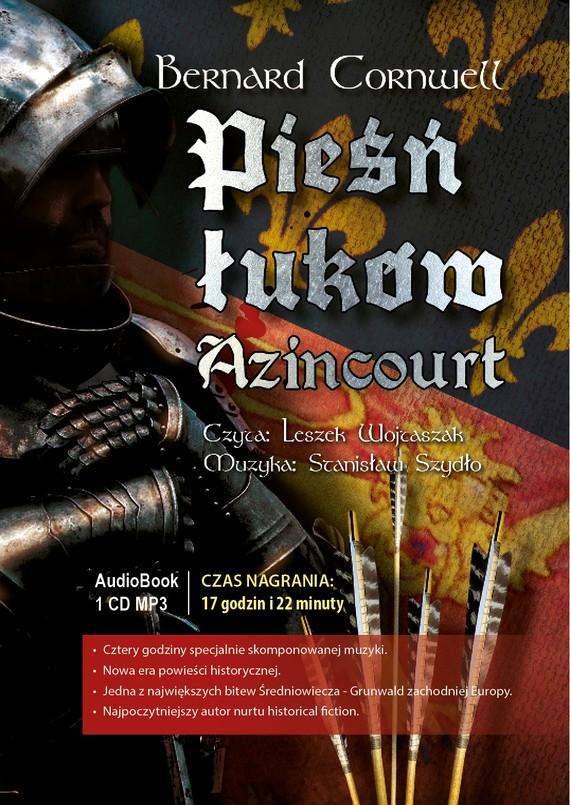 okładka Pieśń łuków. Azincourt, Audiobook | Bernard Cornwell