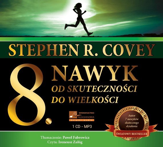 okładka Ósmy nawykaudiobook | MP3 | Stephen Covey