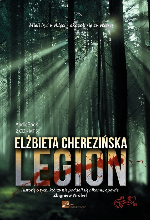 okładka Legionaudiobook | MP3 | Elżbieta Cherezińska