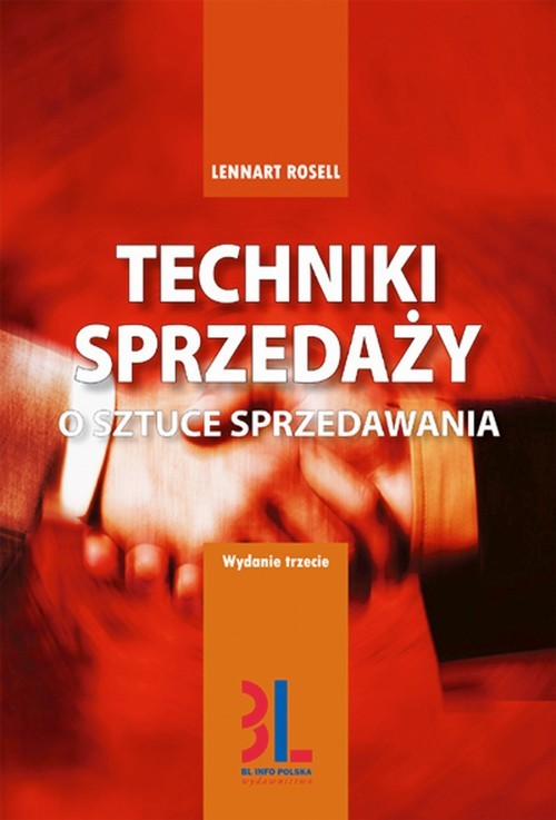 okładka Techniki sprzedażyaudiobook | MP3 | Lennart Rosell