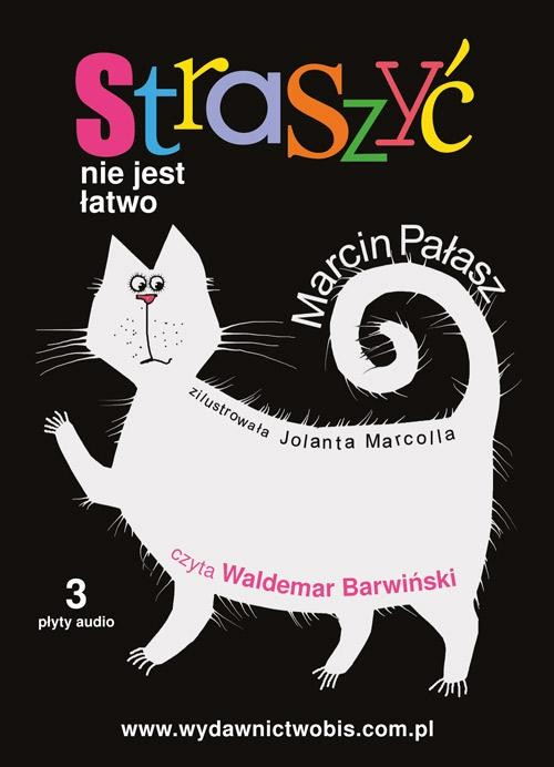 okładka Straszyć nie jest łatwo - audiobook, Audiobook | Marcin Pałasz