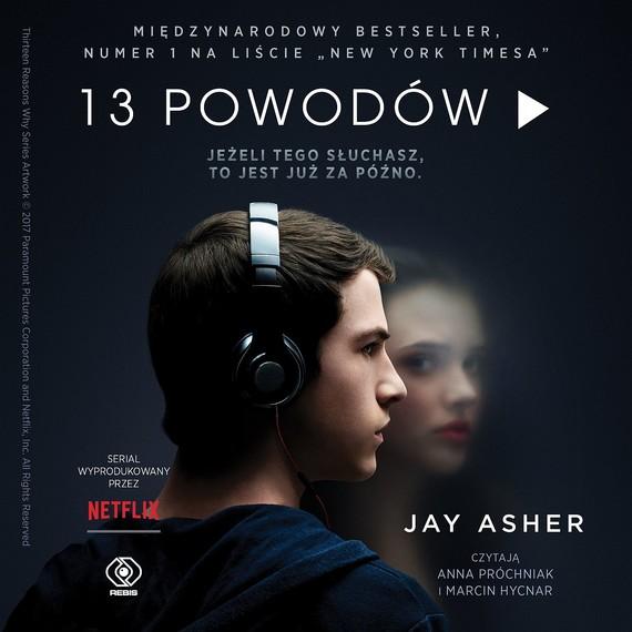 okładka 13 powodów. Audiobook | MP3 | Jay Asher