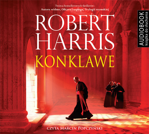 okładka Konklawe, Audiobook | Robert Harris