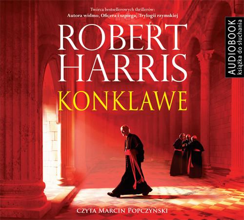okładka Konklaweaudiobook | MP3 | Robert Harris