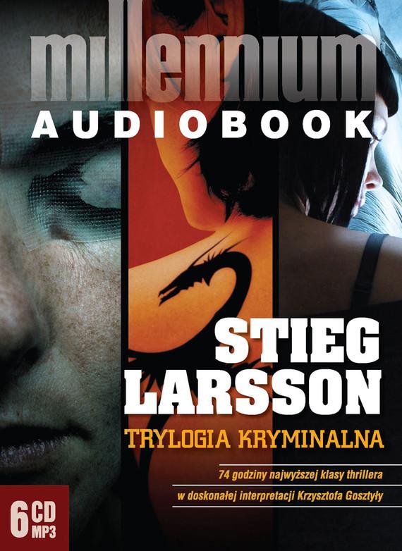 okładka Trylogia Millennium:. Audiobook | MP3 | Stieg Larsson